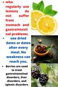 BLACKBERRIES | DRY DATES | LEMON BENEFITS